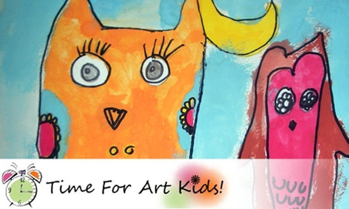 Time For Art Kids - Windermere: $34 for Six 60-Minute Classes at Time For Art Kids ($73 Value)