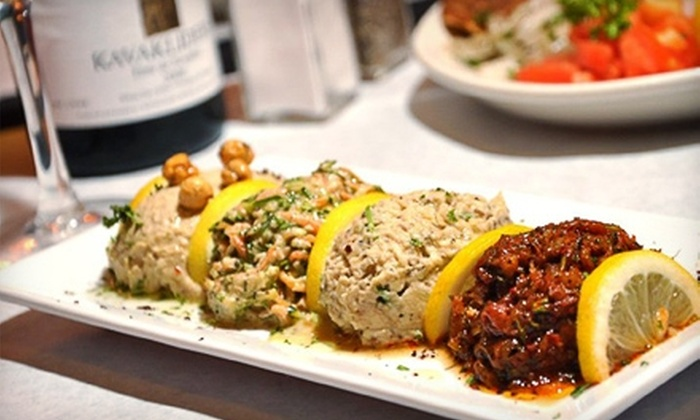 Cazbar - Baltimore: $15 for $30 Worth of Turkish Fare and Drinks at Cazbar