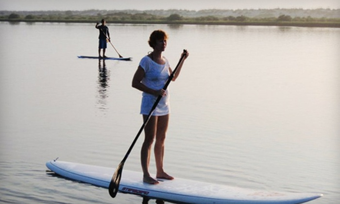 Let's Go Stand Up - Jacksonville: Paddleboard Excursion at Let's Go Stand Up in St. Augustine