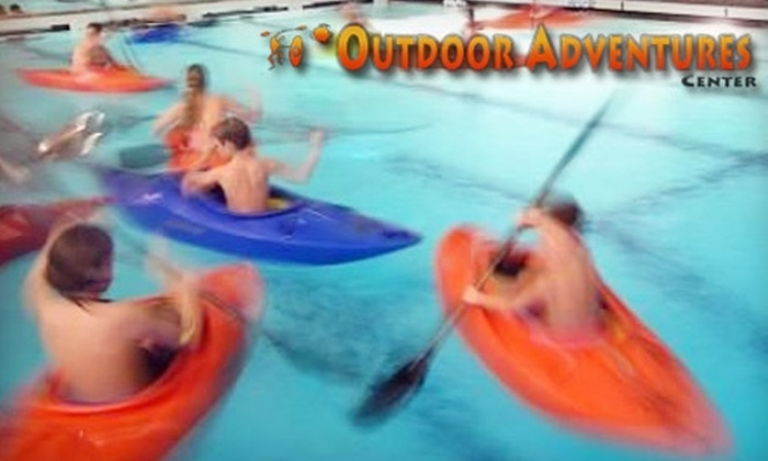 Outdoor Adventure Center - Multiple Locations: $49 for an Adult or Child Intro to Paddlestrokes Indoor Kayak Class in Redmond