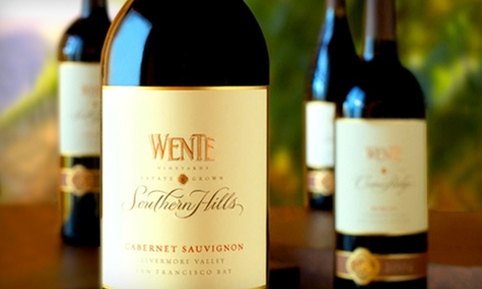 Wente Vineyards - Multiple Locations: $10 for a Wine Tasting for Two ($20 Value) Plus 15% Off Select Bottles at Wente Vineyards