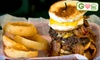 Mojo's Famous Burgers - Multiple Locations: $7 for $15 Worth of Gourmet Burgers and Drinks at Mojo's Famous Burgers