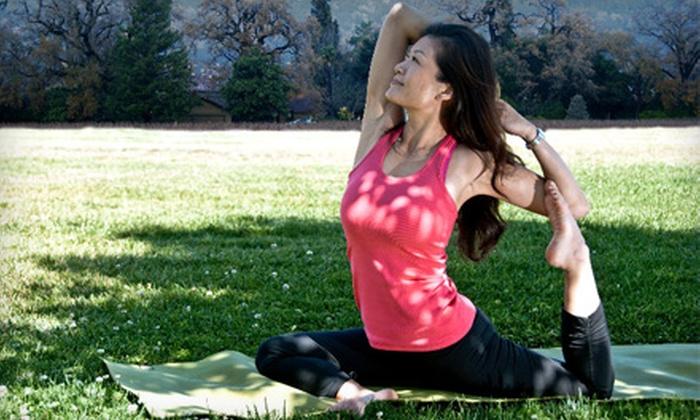 Just Breathe Yoga - Santa Clara: 5 or 10 Yoga Classes at Just Breathe Yoga in Santa Clara (Up to 67% Off)