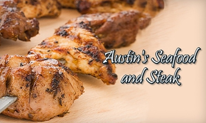 Austin's Seafood and Steak - Gadsden: $15 for $30 Worth of Steaks, Sandwiches, and More at Austin's Seafood and Steak
