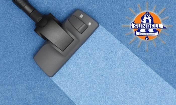 Sunbell Carpet Cleaning - Oklahoma City: $25 for $60 Worth of Carpet, Tile, and Upholstery Cleaning from Sunbell Carpet Cleaning