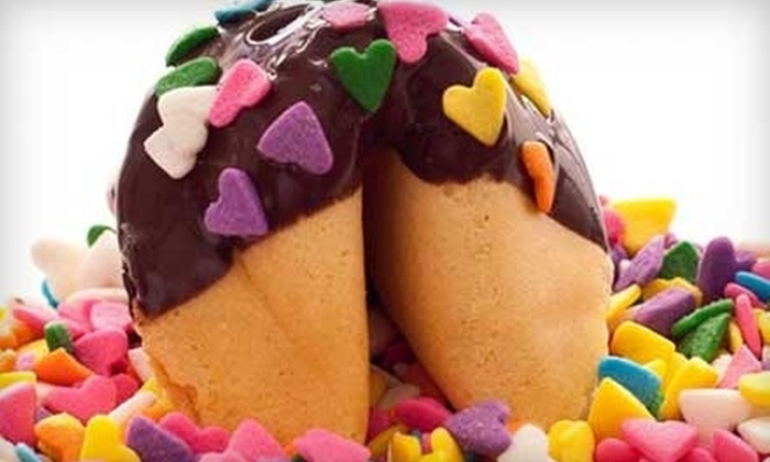 Fancy Fortune Cookies: $15 for $35 Worth of Fortune Cookies from Fancy Fortune Cookies