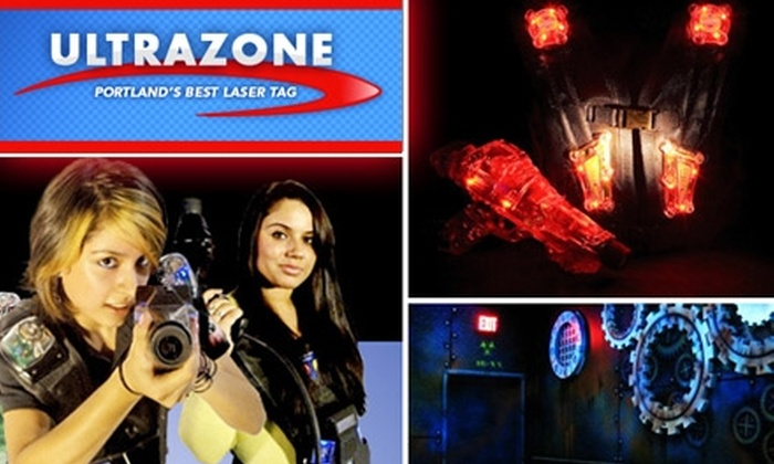 Ultrazone Laser Tag - Northwest Clackamas: $10 for Three Games of Laser Tag at Ultrazone Laser Tag ($20 Value)