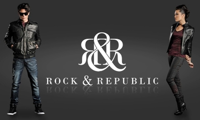 "Rock & Republic - Lucerne - Higuera: $50 for $100 Worth of Apparel at the Rock & Republic Warehouse Sale in Culver City (or $50 for $100 at ""Friends and Family Night"")"