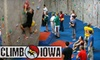 Up to 55% Off at Climb Iowa