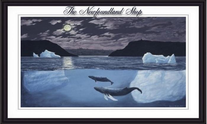 The Newfoundland Shop: $50 for $100 Toward Framed Art from the Newfoundland Shop