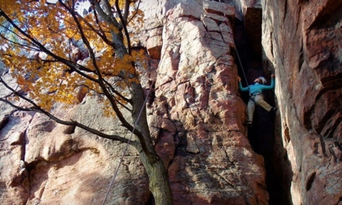 Apex Adventure Alliance - Madison: $45 for a One-Day Rock-Climbing Trip with Apex Adventure Alliance in Southern Wisconsin (Up to $95 Value)