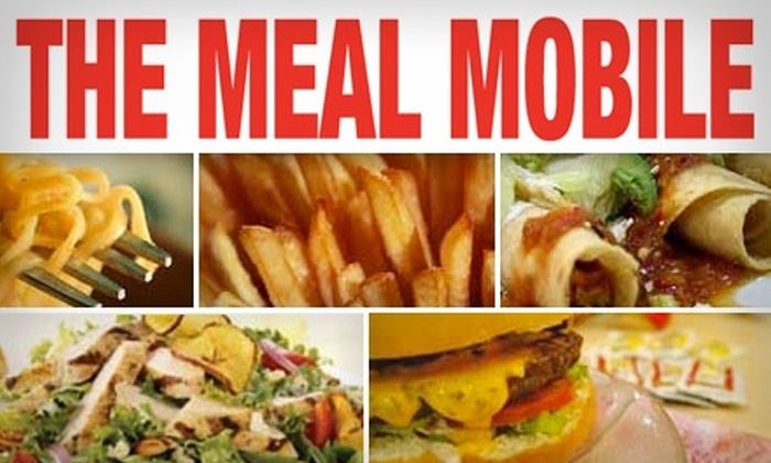 The Meal Mobile - Milwaukee: $12 for $24 Worth of Delivered Grub from The Meal Mobile