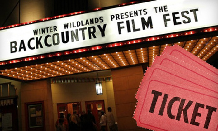 Backcountry Film Festival - Walker: Single or Family Backcountry Film Festival Outing from West Michigan Academy of Environmental Science (Half Off)