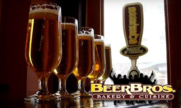 Beer Bros. Bakery & Cuisine - Downtown: $15 for $30 Worth of Beer-Infused Fare and Drinks at Beer Bros. Bakery & Cuisine