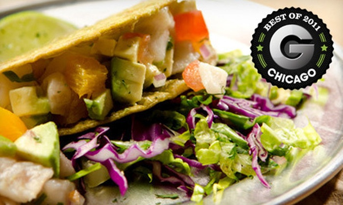 Taco Joint - Lincoln Park: $17 for Six Tacos and Two Zocalo Margaritas at Taco Joint (Up to $34 Value)