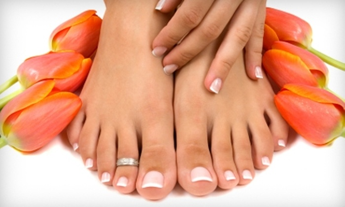 Eden's Pathway - Devon: $25 for an Express Manicure and Pedicure at Eden's Pathway ($50 Value)
