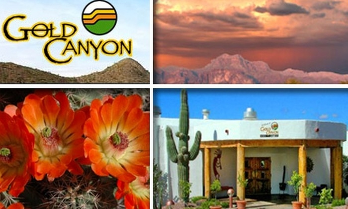 Gold Canyon Golf Resort - North Pinal: $25 for $50 Worth of Spa Services at Gold Canyon Golf Resort