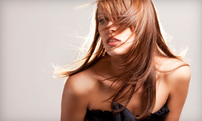 Deux Amis Salon - I-70 Corridor: Haircut, Color, and Blowout or Haircut, Full Highlight, and Blowout at Deux Amis Salon in Arvada (Up to 60% Off)