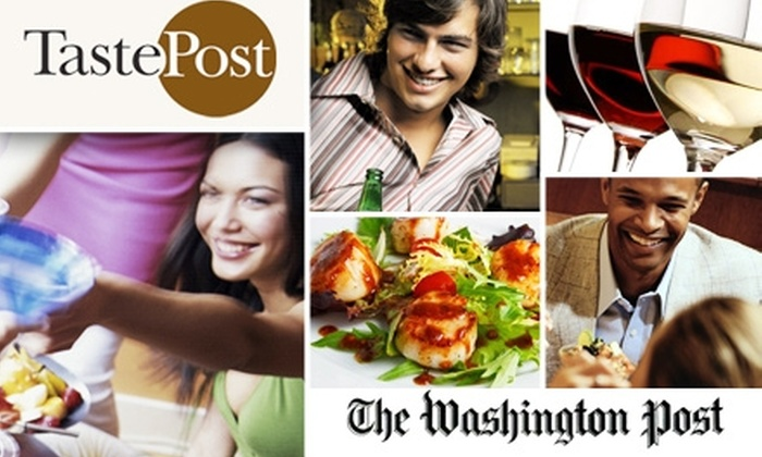 The Washington Post/TastePost - Washington DC: $10 Membership to TastePost from 'The Washington Post'