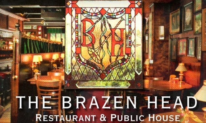 The Brazen Head - Cow Hollow: $25 for $50 Worth of American Cuisine and Drinks at The Brazen Head