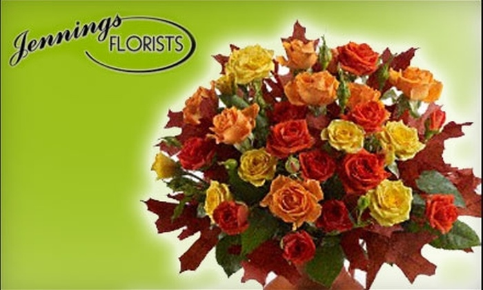Jennings Florist - Victoria: $25 for a 45-Minute Floral-Arranging Workshop at Jennings Florists ($50 Value)