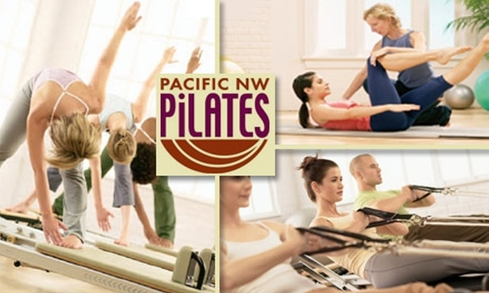 Pacific NW PIlates - Sylvan - Highlands - Southwest Hills: $49 for Four Group Pilates Reformer Classes and One Private Session from Pacific NW Pilates ($165 Value)