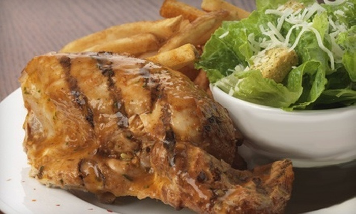 Nando's Flame-Grilled Chicken - Multiple Locations: $10 for $20 Worth of Peri-Peri Fare, Kebabs, and Sandwiches at Nando's Flame-Grilled Chicken. Two Locations Available.