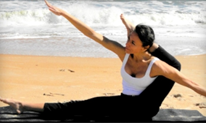 Blue Moon Yoga and Fitness - Ormond Beach: $25 for a 10-Class Pass at Blue Moon Yoga and Fitness
