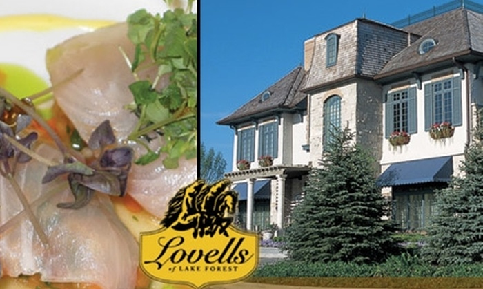 Lovell's of Lake Forest - Lake Forest: $25 for $50 Worth of Upscale Fare and Drinks at Lovell's of Lake Forest