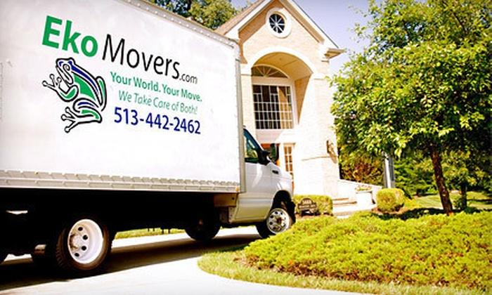 EkoMovers - Cincinnati: $99 for Two Hours of Moving Services with Two-Man Crew from EkoMovers (Up to $211.50 Value)