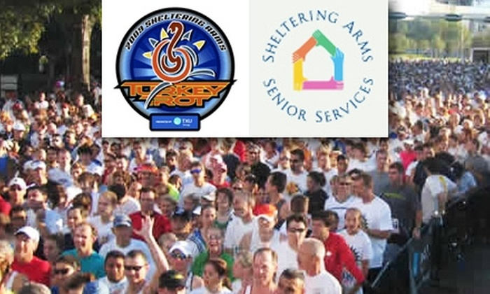 Sheltering Arms Senior Services - Braeswood Place: $15 Entry to Sheltering Arms Turkey Trot Race for Charity