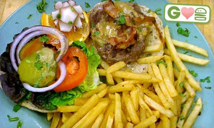 Brennan's Beer & Bistro - Central London: $15 for Two Burgers and Two Craft Brews at Brennan's Beer & Bistro in London (Up to $31.50 Value)