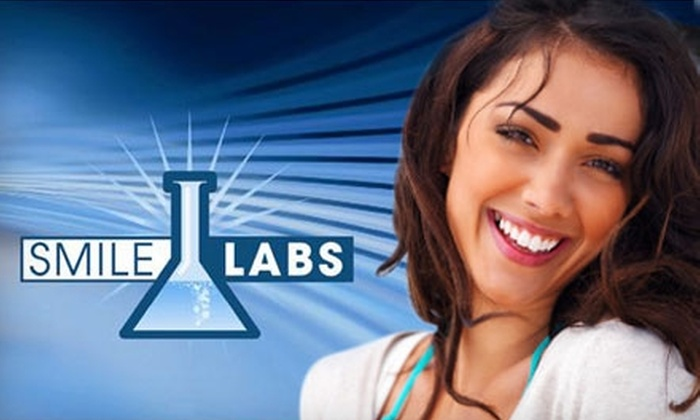 Smile Labs - West Omaha: $149 for a TOTAL White Package of Six Teeth Whitening Sessions at SmileLABS