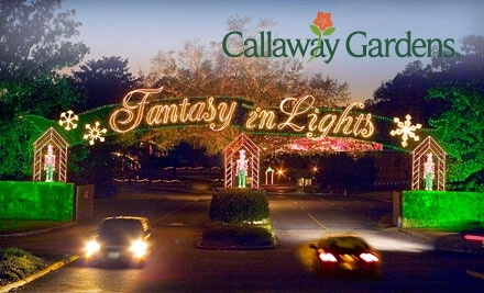 up to 52 off fantasy in lights tickets callaway gardens atlanta groupon ForCallaway Gardens Fantasy In Lights