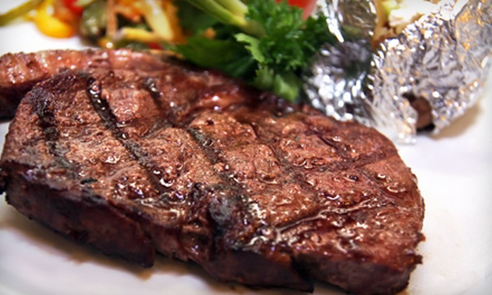 Palace Family Steakhouse - San Francisco: $29 for a Steak Dinner for Two at Palace Family Steakhouse (Up to $64.80 Value)