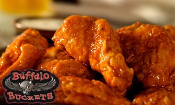Buffalo Buckets - Valumbrosa: $5 for $15 Worth of Wings and Beer at Buffalo Buckets Wings & More