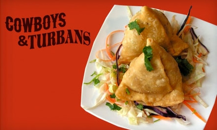 Cowboys & Turbans - Silver Lake: $15 for $35 Worth of Mexican-Indian Cuisine and Drinks at Cowboys & Turbans