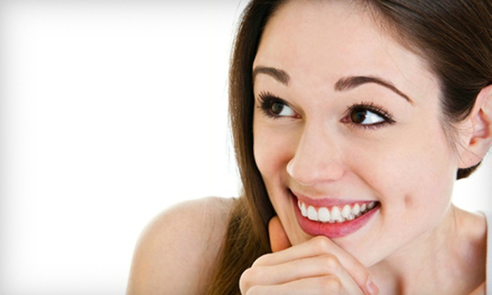 Pure Zen Dentistry - College Crest: $99 for Teeth Whitening for Life, Cleaning, X-Rays, and Dental Exam at Pure Zen Dentistry ($473 Value)