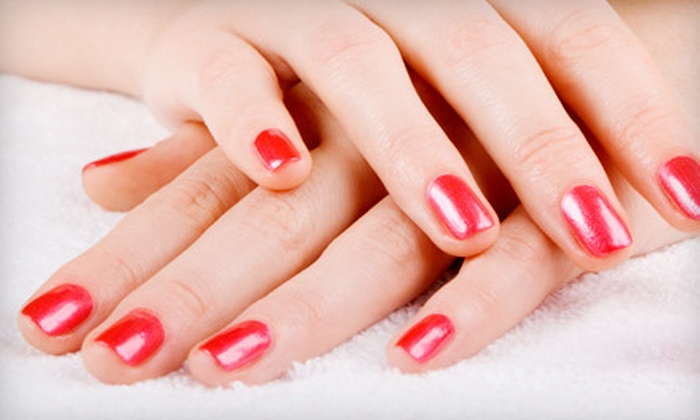 Costa La Jolla Nails - University City,Northern San Diego: Shellac Manicure, Pedicure, or Mani-Pedi at Costa La Jolla Nails (Up to Half Off)