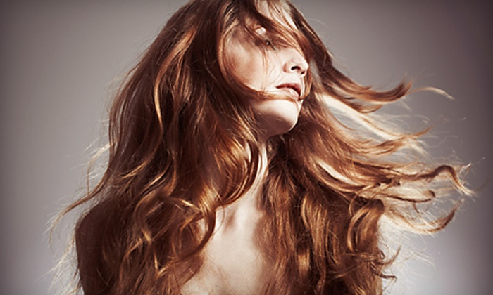 The Glam Spot - Winston Park: $45 for a Partial-Highlight or a Color-Retouch Package at The Glam Spot (Up to $145 Value)