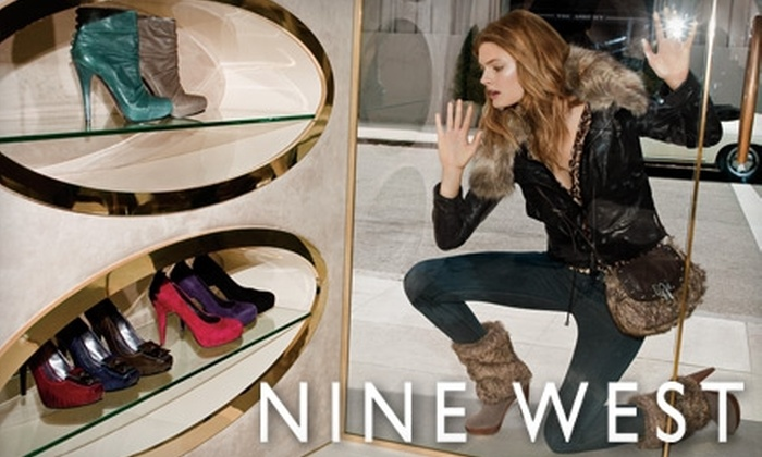 Nine West - Barclay Downs: $25 for $50 Worth of Women's Footwear and Handbags at Nine West