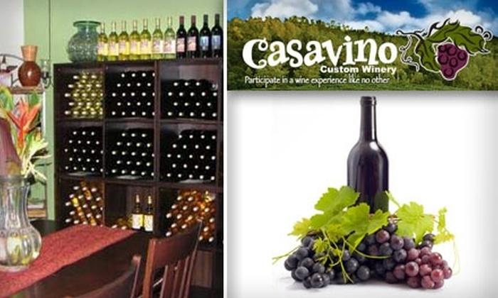 Casavino Winery - Fountain Hills: $55 for $110 Toward Wine at Casavino Custom Winery