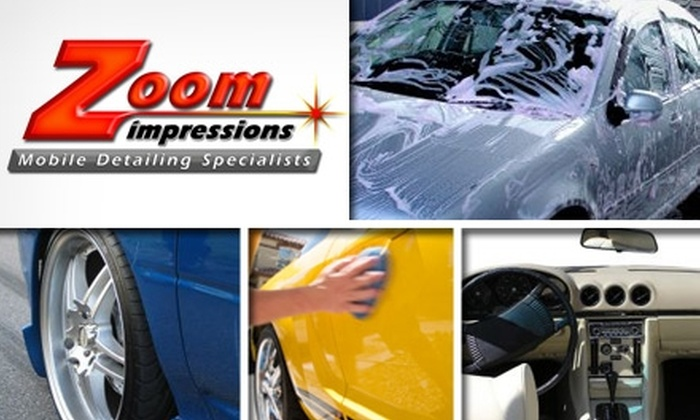 Zoom Impressions - Charlotte: $49 for an On-Location Premium Auto Detailing and Wash at Zoom Impressions (Up to $140.99 Value)