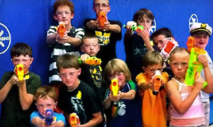 Dart Zone - Meridian: $10 for a One-Hour Nerf-Gun Battle for Four at Dart Zone ($20 Value)