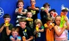 Dart Warz - Meridian: $10 for a One-Hour Nerf-Gun Battle for Four at Dart Zone ($20 Value)