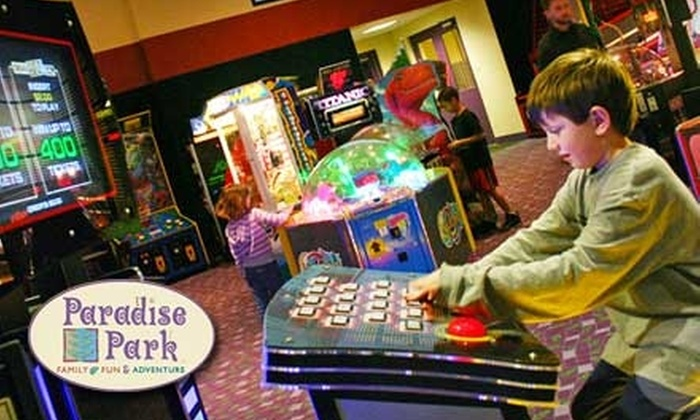 Paradise Park - Lee's Summit: $13 for a Pick-5 Attraction Pass at Paradise Park in Lee's Summit ($26 Value)