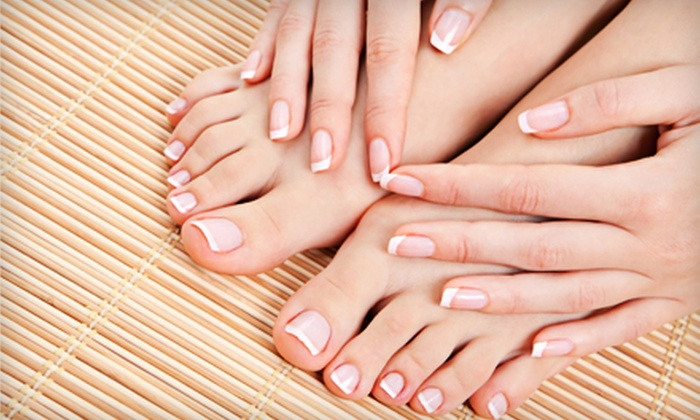 Cutoure Salon & Spa - Evergreen: Manicure or Mani-Pedi at Cutoure Salon & Spa (Up to 55% Off)