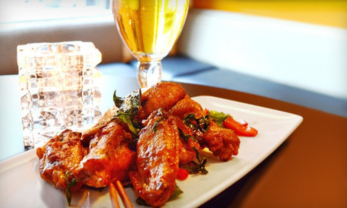 Jinx Kitchen + Lounge  - Pearl: Thai Fare and Drinks for Dinner or Lunch at Jinx Kitchen + Lounge (Half Off)