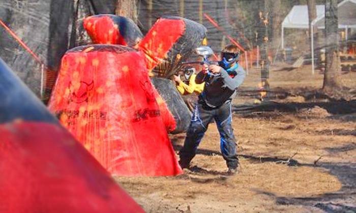 Legends Paintball - The Woodlands: All-Day Paintball Adventure for Two, Four, or Eight at Legends Paintball in The Woodlands