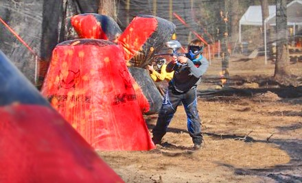 All-Day Paintball Package for 2 (up to a $64 value) - Legends Paintball in The Woodlands